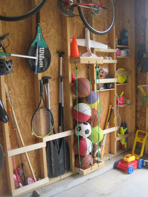 Best ideas about Sports Equipment Garage Storage . Save or Pin Awesome DIY Garage Organization Ideas landeelu Now.