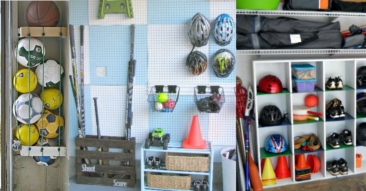 Best ideas about Sports Equipment Garage Storage . Save or Pin 6 Amazing Sports Equipment Storage Ideas That Will Blow Now.