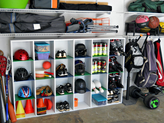 Best ideas about Sports Equipment Garage Storage . Save or Pin IHeart Organizing Reader Space Trash to Treasure Garage Now.