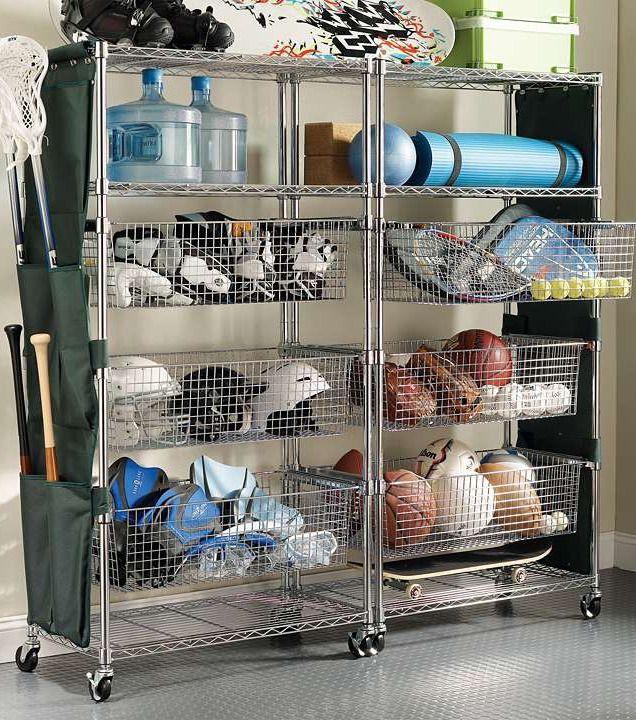 Best ideas about Sports Equipment Garage Storage . Save or Pin Best 25 Sports equipment storage ideas on Pinterest Now.