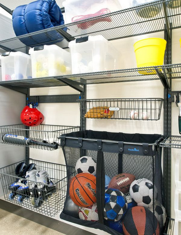 Best ideas about Sports Equipment Garage Storage . Save or Pin Time To Sort Out The Mess – 20 Tips For A Well Organized Now.