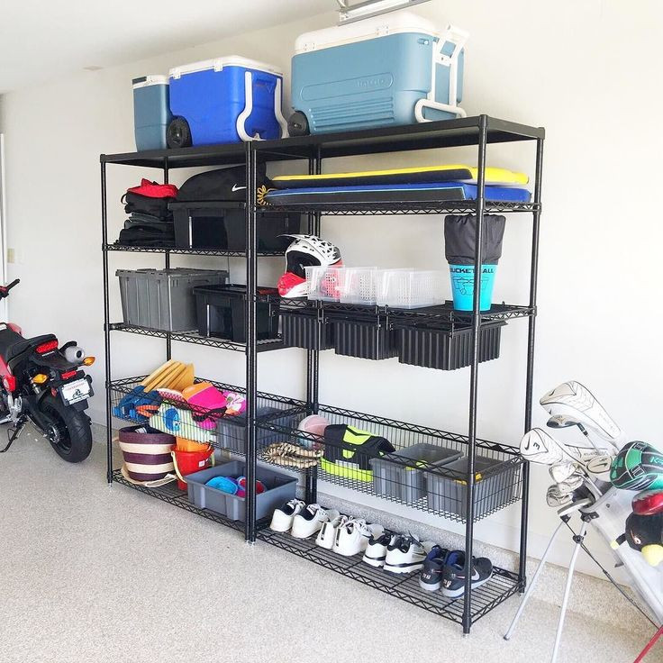 Best ideas about Sports Equipment Garage Storage . Save or Pin 16 best NEAT Garages images on Pinterest Now.