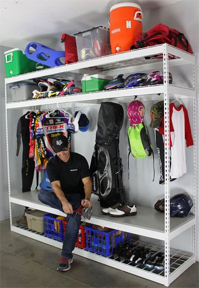 Best ideas about Sports Equipment Garage Storage . Save or Pin Best 10 Sports equipment storage ideas on Pinterest Now.