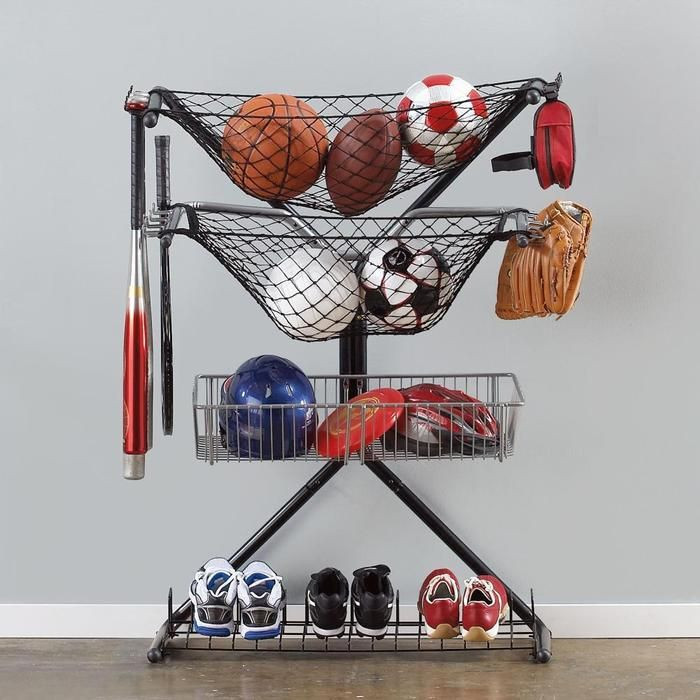 Best ideas about Sports Equipment Garage Storage . Save or Pin 32 best DIY Self Storage and Home Improvement images on Now.
