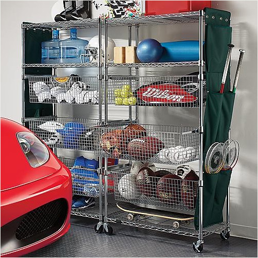 Best ideas about Sports Equipment Garage Storage . Save or Pin JustShelfit Is New York City Top Steel Shelving Racks Now.