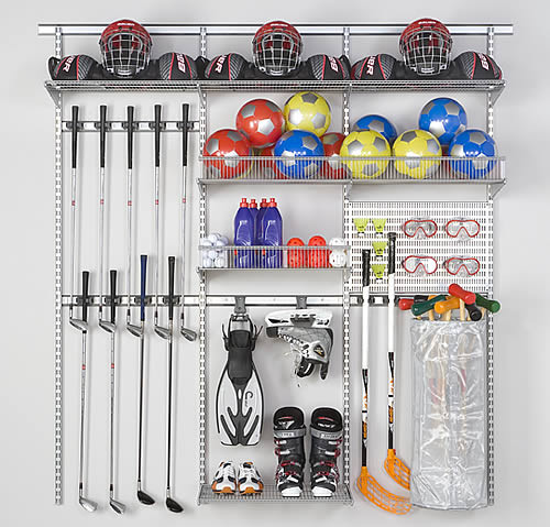 Best ideas about Sports Equipment Garage Storage . Save or Pin STORE Now.