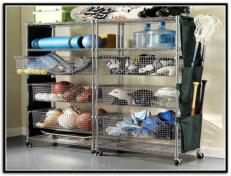 Best ideas about Sports Equipment Garage Storage . Save or Pin Garage Storage Bins For Sports Equipment Now.