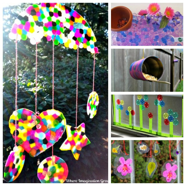 Best ideas about Spring Arts And Crafts For Kids . Save or Pin 10 Easy Spring Crafts & Activities for Kids Where Now.