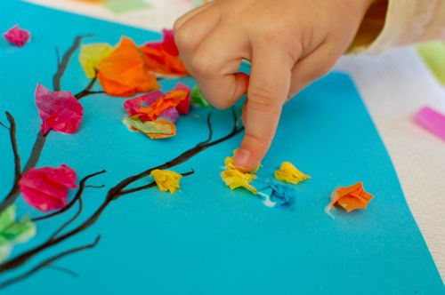 Best ideas about Spring Arts And Crafts For Kids . Save or Pin 10 Spring Kids' Crafts Now.