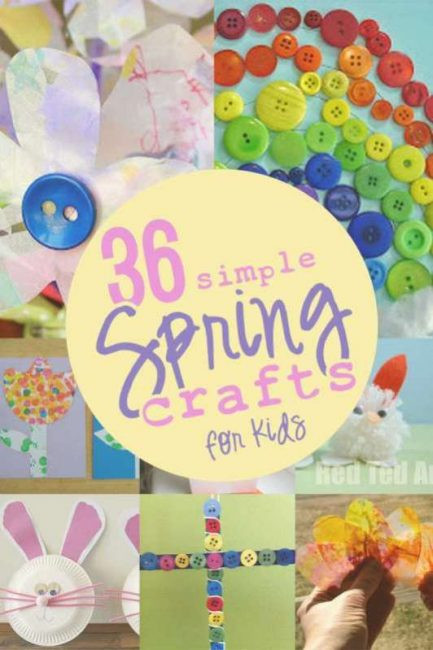 Best ideas about Spring Craft For Kids . Save or Pin 36 Simple Spring Crafts for Kids hands on as we grow Now.