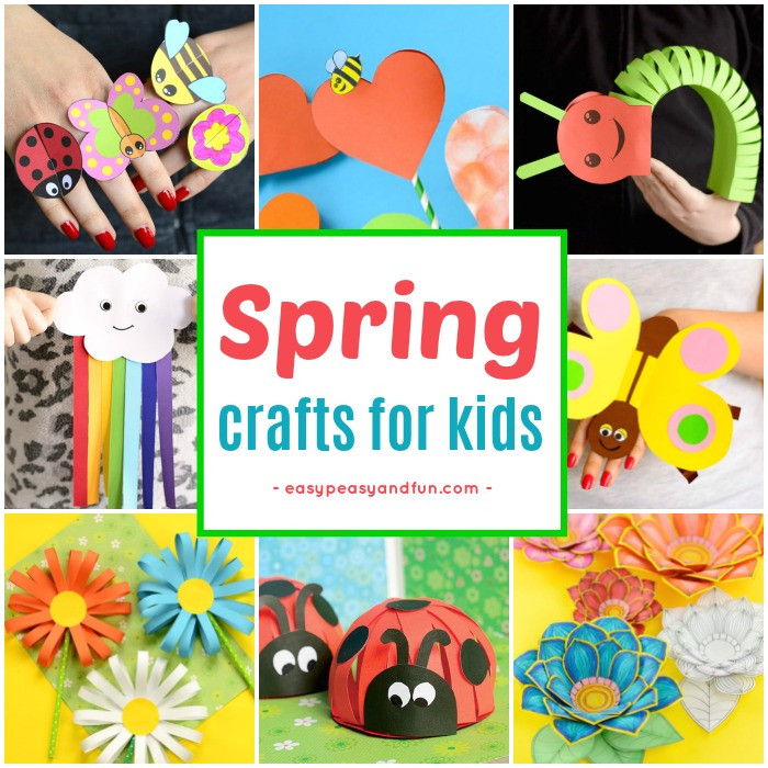 Best ideas about Spring Craft For Kids . Save or Pin Spring Crafts for Kids Art and Craft Project Ideas for Now.