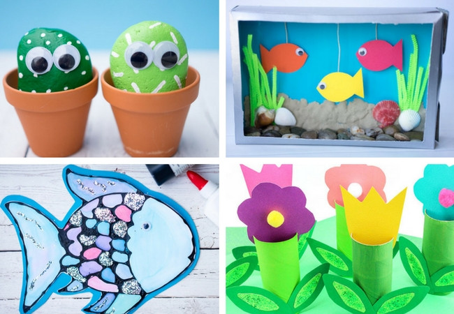 Best ideas about Spring Craft Ideas For Toddlers . Save or Pin 100 Easy Craft Ideas for Kids The Best Ideas for Kids Now.