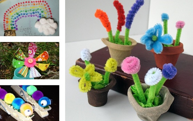 Best ideas about Spring Craft Ideas For Toddlers . Save or Pin Cute Spring Craft Ideas For Kids Now.