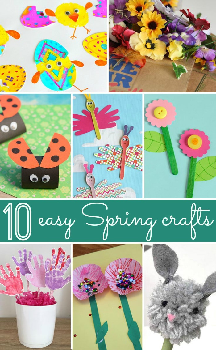 Best ideas about Spring Craft Ideas For Toddlers . Save or Pin Spring craft ideas · The Typical Mom Now.