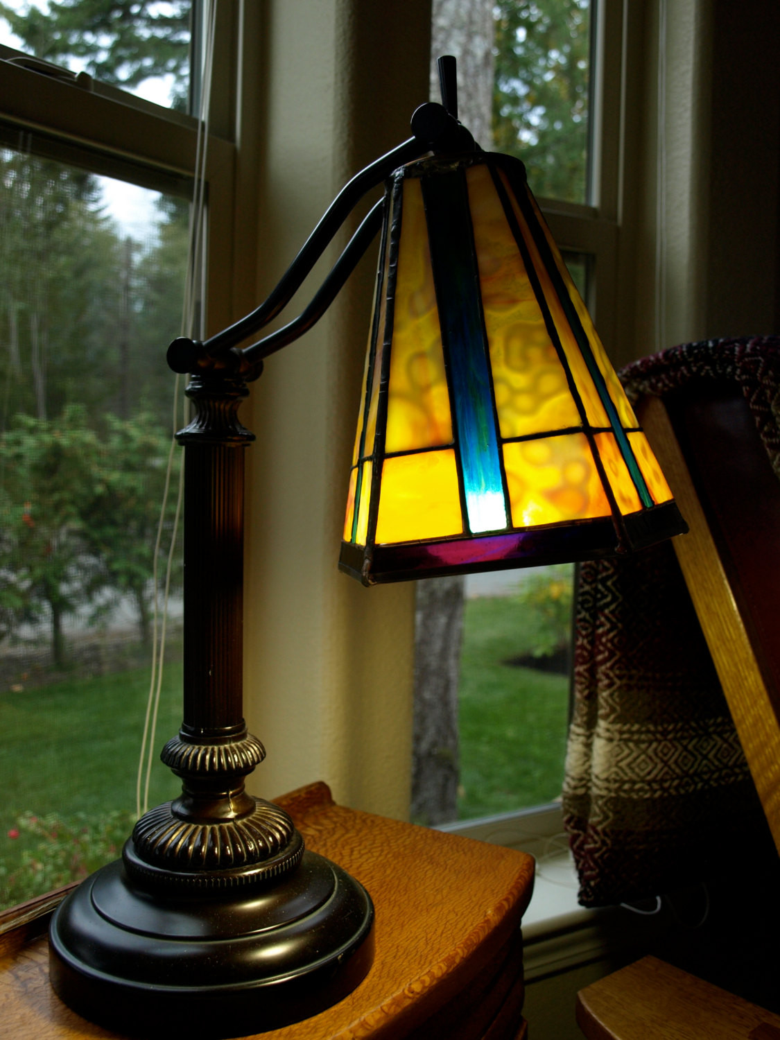 Best ideas about Stained Glass Desk Lamp . Save or Pin Stained Glass desk lamp Now.