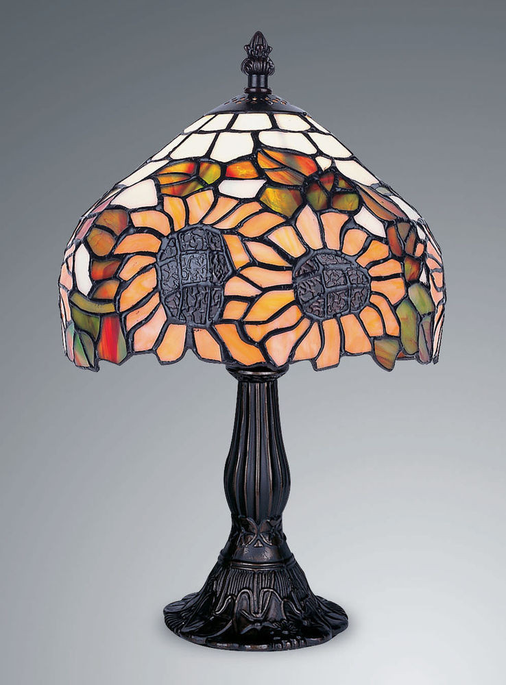 Best ideas about Stained Glass Desk Lamp . Save or Pin TIFFANY STYLE UNIQUE STAINED GLASS DESK LAMP 8 07 WIDE Now.