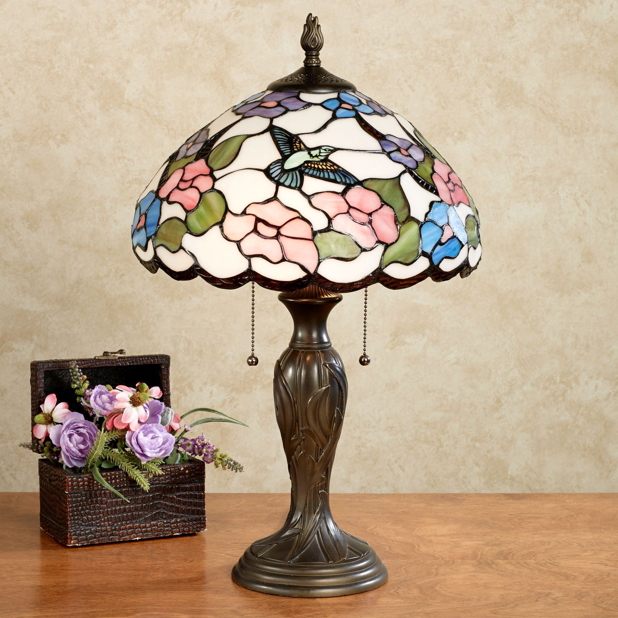 Best ideas about Stained Glass Desk Lamp . Save or Pin Sweet Nectar Hummingbird Stained Glass Table Lamp Now.