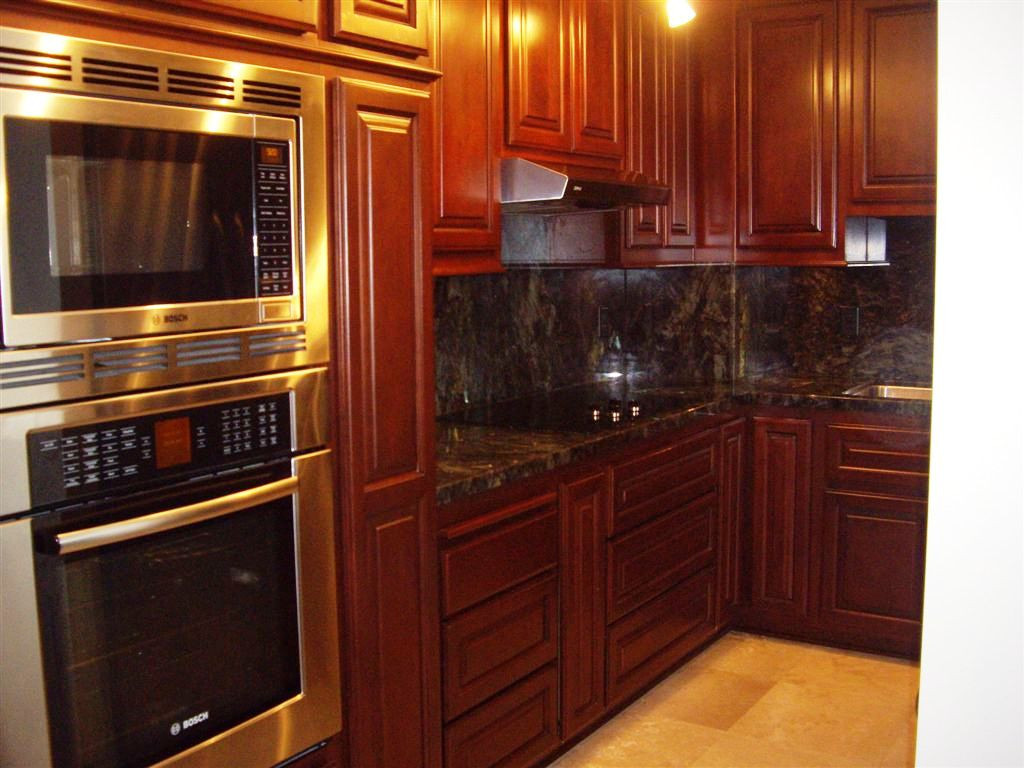 Best ideas about Stained Kitchen Cabinets . Save or Pin Steps Applying Gel Stain Kitchen Cabinets — Home Ideas Now.