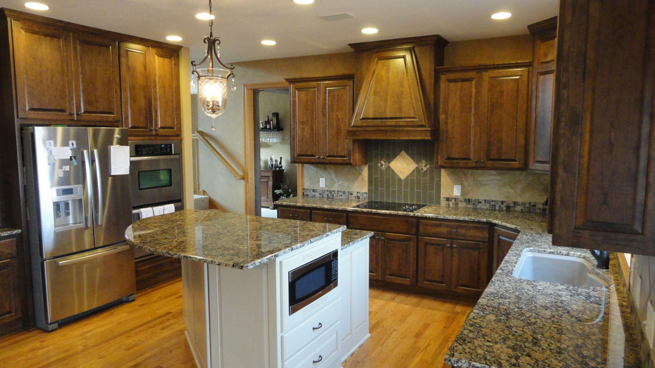 Best ideas about Stained Kitchen Cabinets . Save or Pin custom cabinets Now.