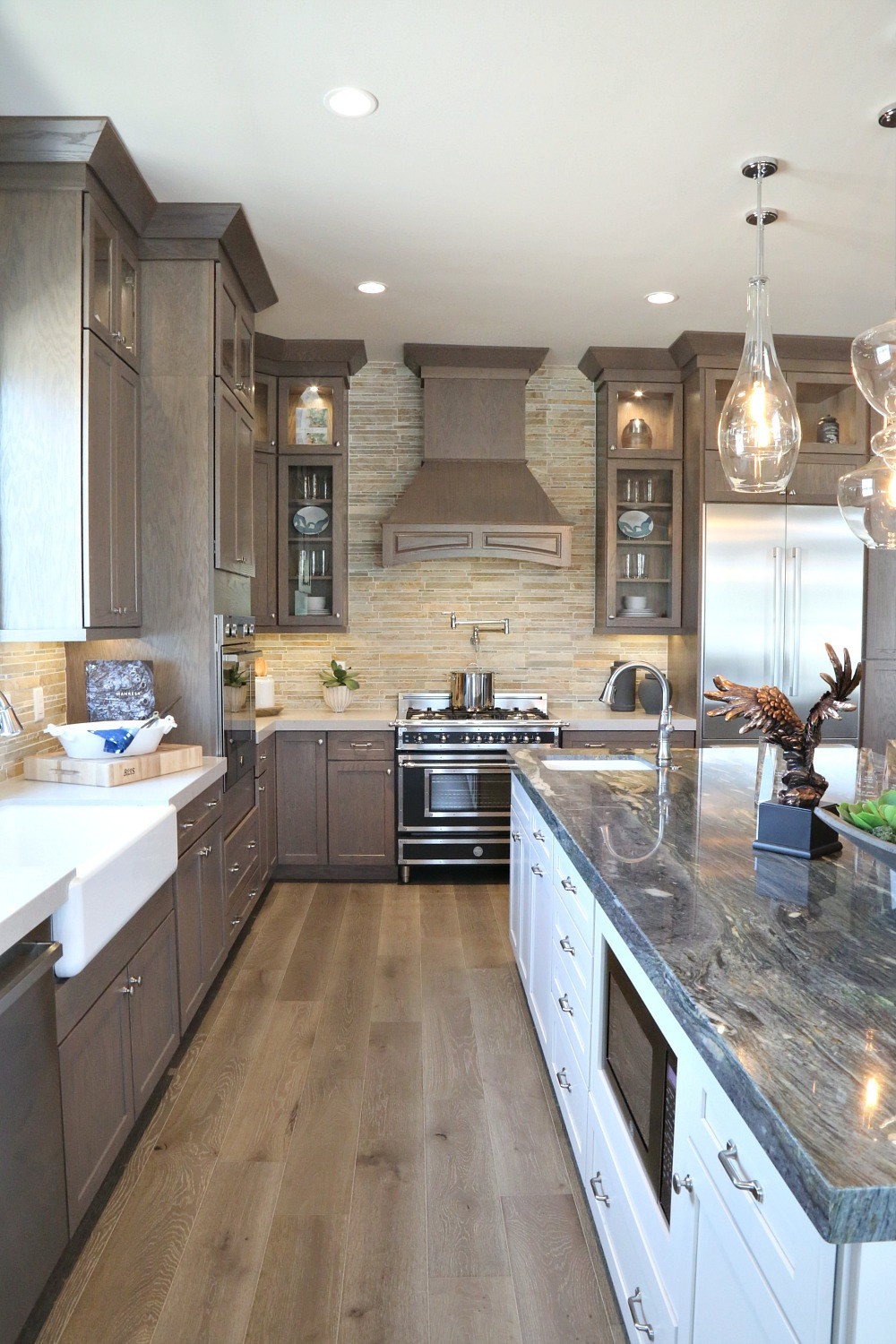 Best ideas about Stained Kitchen Cabinets . Save or Pin Our Best Tips for Staining Cabinets or Re Staining Now.