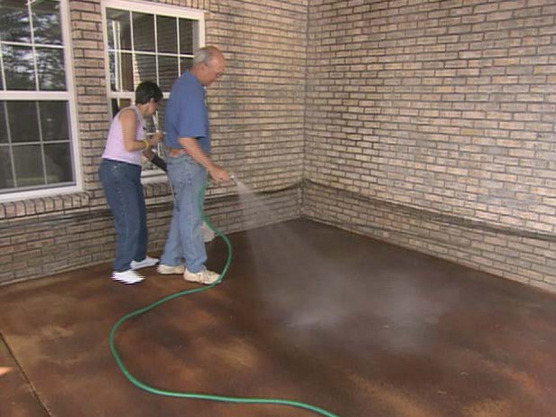 Best ideas about Staining Concrete Floor DIY . Save or Pin How to Apply Concrete Stain how tos Now.