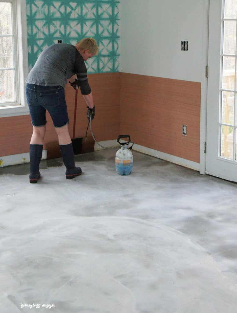 Best ideas about Staining Concrete Floor DIY . Save or Pin The Beginner s Guide to DIY Stained Concrete A Step by Now.