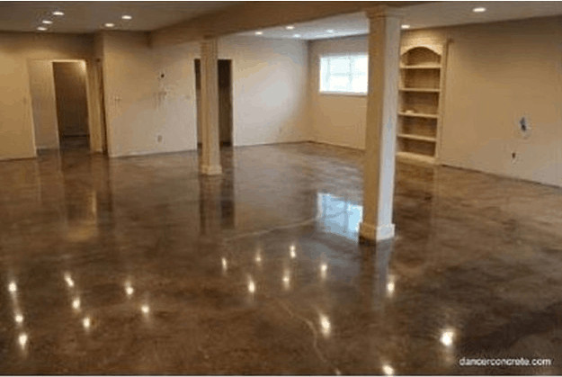 Best ideas about Staining Concrete Floor DIY . Save or Pin How to Make Cement Floors More Appealing DIY Projects Now.