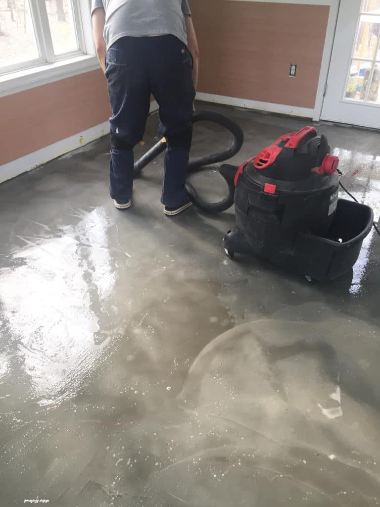 Best ideas about Staining Concrete Floor DIY . Save or Pin DIY Stained Concrete Floors are So Easy semigloss design Now.