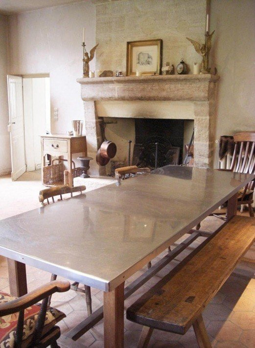 Best ideas about Stainless Steel Dining Table . Save or Pin Stainless Steel Top Dining Table Foter Now.