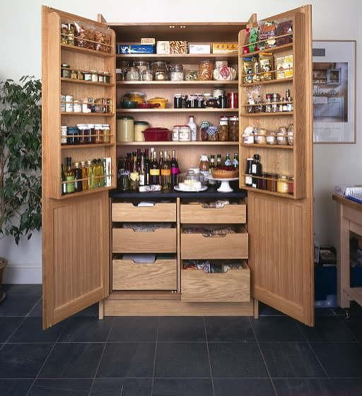 Best ideas about Stand Alone Kitchen Pantry . Save or Pin Stand alone Wooden Pantry with Doors Now.