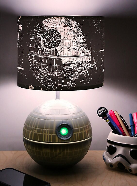 Best ideas about Star Wars Desk Lamp . Save or Pin Star Wars Death Star Desk Lamp Now.