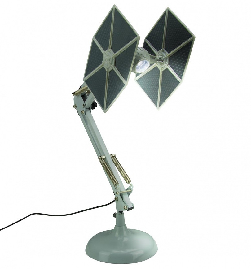 Best ideas about Star Wars Desk Lamp . Save or Pin Star Wars Tie Fighter Poseable Desk Lamp Now.