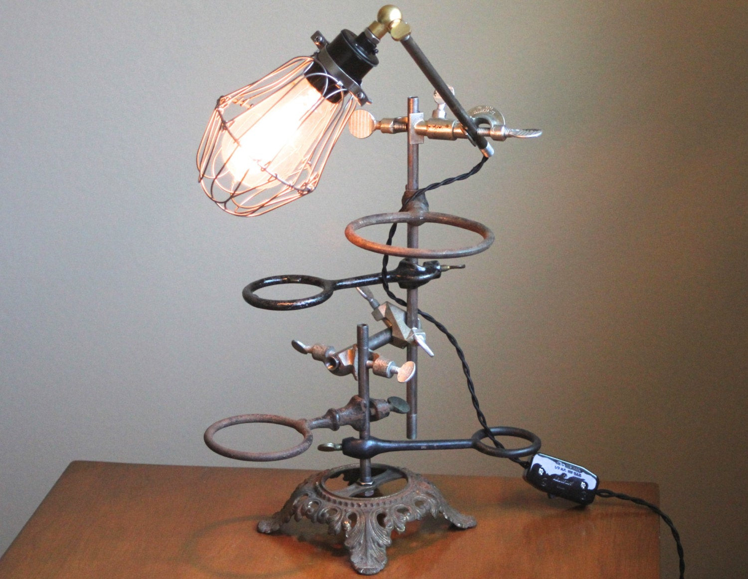 Best ideas about Steampunk Desk Lamp . Save or Pin Industrial desk lamp steampunk lamp industrial lamp Now.