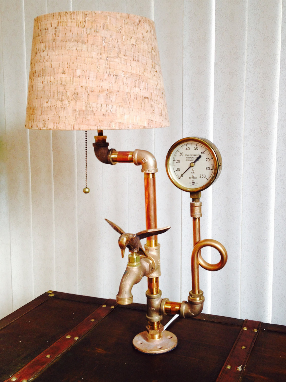 Best ideas about Steampunk Desk Lamp . Save or Pin Steampunk Lamp Industrial Lamp Desk Lamp Unique Lamp Now.