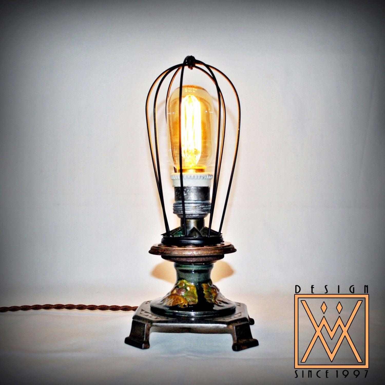 Best ideas about Steampunk Desk Lamp . Save or Pin Unique Steampunk Desk Lamp with Vintage & Antique parts Now.