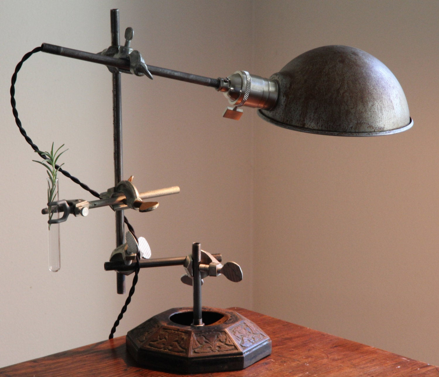 Best ideas about Steampunk Desk Lamp . Save or Pin steampunk lamp Industrial desk lamp steampunk table lamp Now.