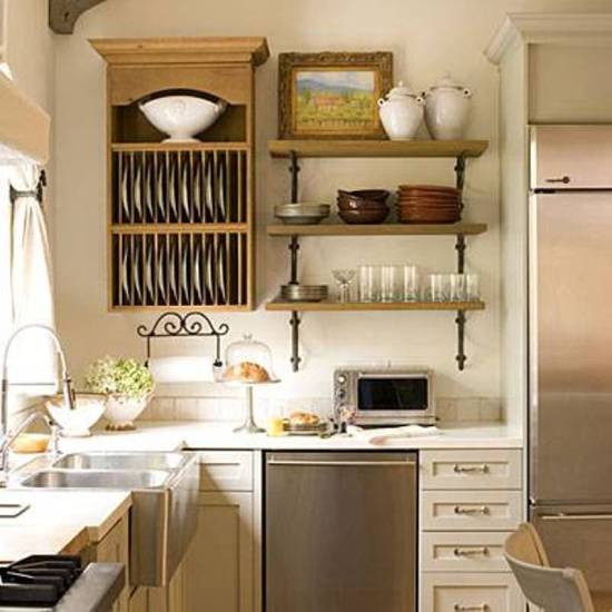 Best ideas about Storage Ideas For Small Kitchens . Save or Pin 15 Trendy Kitchen Storage Ideas Now.