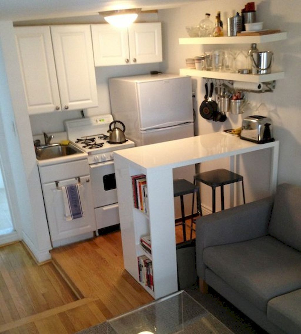 Best ideas about Studio Apartment Kitchen Ideas . Save or Pin Inspiration for small kitchen remodel ideas on a bud Now.