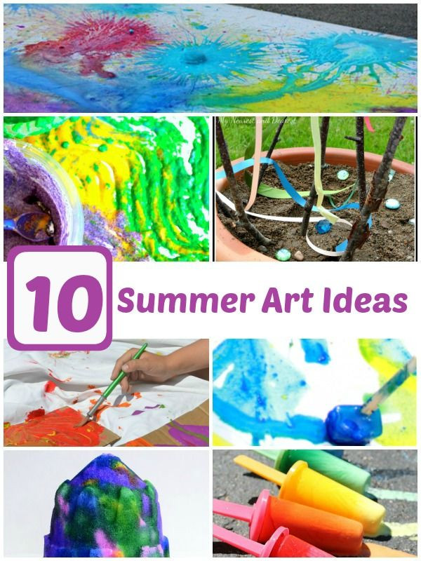Best ideas about Summer Art Project For Kids . Save or Pin 330 best images about Summertime Lesson Plans on Pinterest Now.