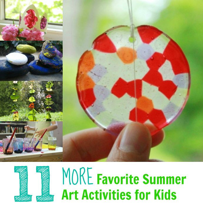 Best ideas about Summer Art Project For Kids . Save or Pin 17 Best images about Summer kid activities on Pinterest Now.