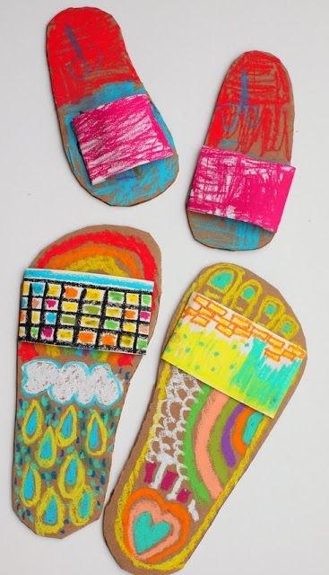 Best ideas about Summer Art Project For Kids . Save or Pin Art Craft Kindergarten Now.