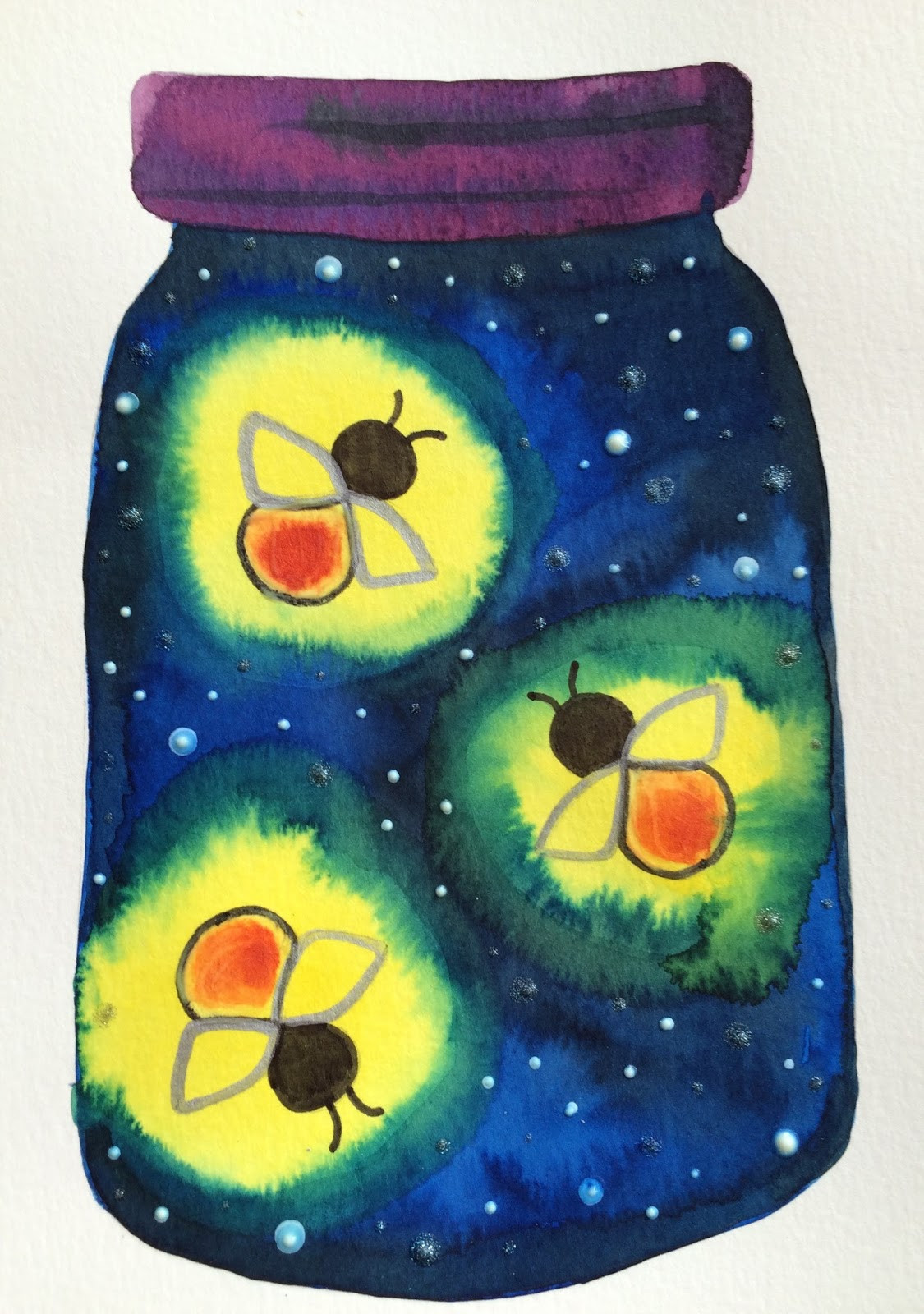 Best ideas about Summer Art Project For Kids . Save or Pin Kathy s AngelNik Designs & Art Project Ideas Glow in The Now.
