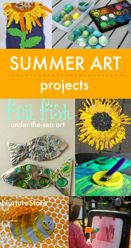 Best ideas about Summer Art Project For Kids . Save or Pin 20 summer art activities for children NurtureStore Now.