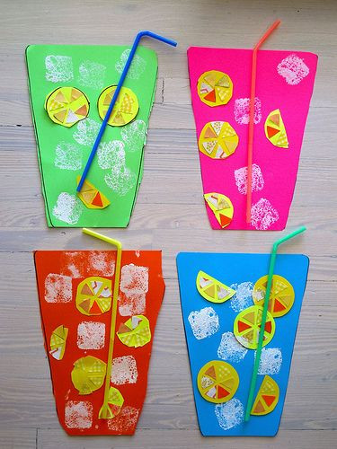 Best ideas about Summer Art Project For Kids . Save or Pin 100 ideas to try about Preschool Craft Ideas Now.