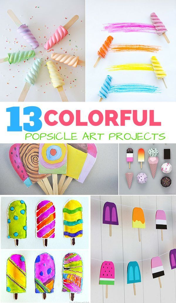 Best ideas about Summer Art Project For Kids . Save or Pin 25 great ideas about Popsicle crafts on Pinterest Now.