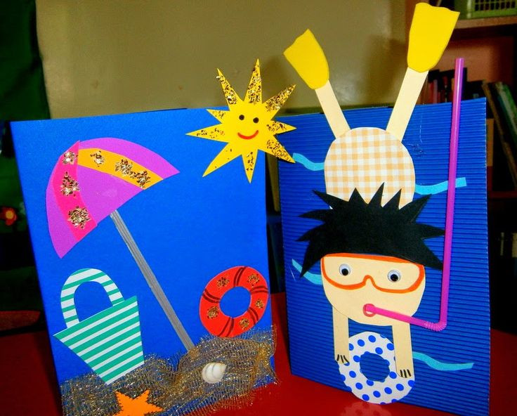 Best ideas about Summer Craft Ideas For Preschoolers . Save or Pin Summer craft Now.