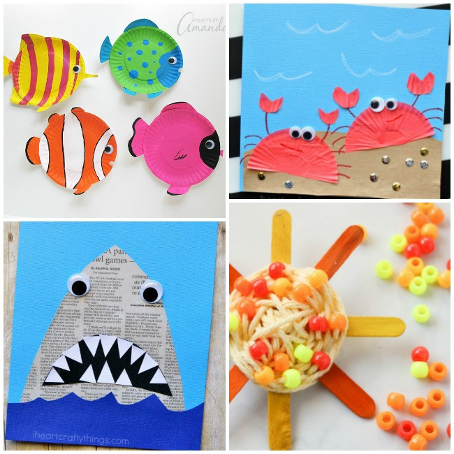 Best ideas about Summer Craft Ideas For Preschoolers . Save or Pin 50 Epic Kid Summer Activities and Crafts Now.
