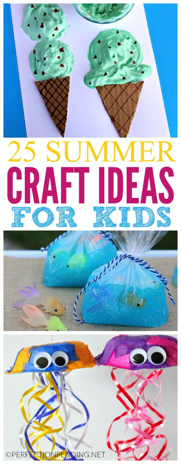 Best ideas about Summer Craft Ideas For Preschoolers . Save or Pin 25 best ideas about Kid Crafts on Pinterest Now.