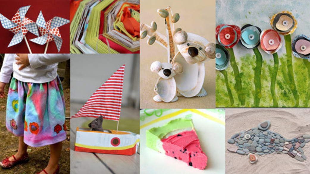 Best ideas about Summer Craft Ideas For Preschoolers . Save or Pin HiMama Simple Preschool Craft Ideas for Summer Now.