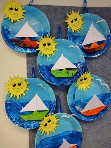 Best ideas about Summer Craft Ideas For Preschoolers . Save or Pin Water transport Art N craft Now.